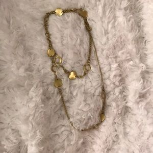 Lia Sophia Long or short Gold Necklace!